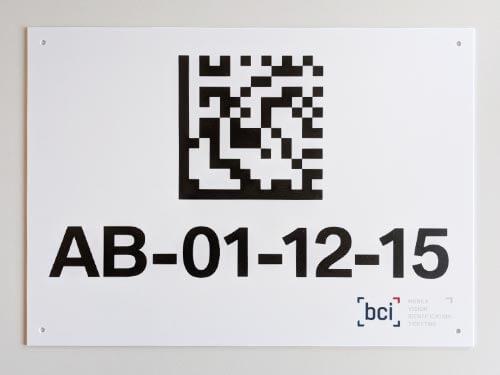 bci GmbH Blocklageretiketten