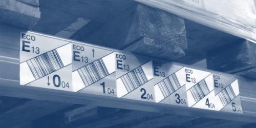 Barcode-Etiketten Logistik