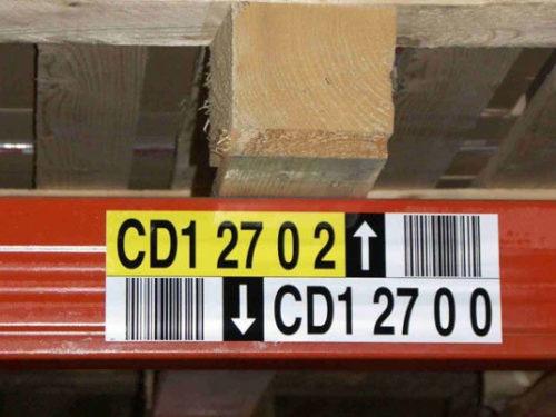 Lagerplatz-Etiketten der bci GmBh