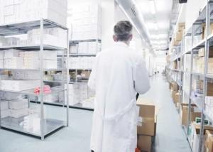 Pharma Einlagerungskontrolle