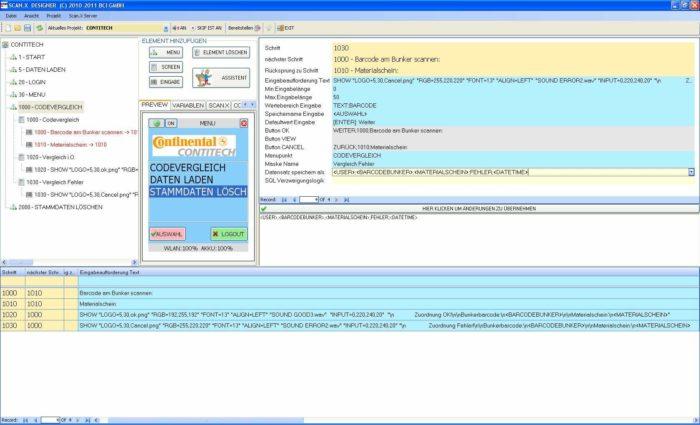 Scan.X Software bci GmbH