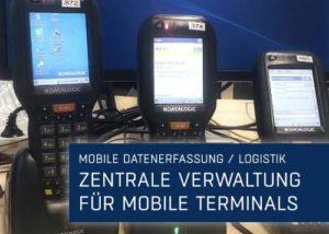 Portfolio Vorschau Verwaltung mobiler Terminals