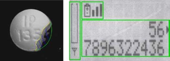 Erkennung optischer Fehler / Funktionsmängel