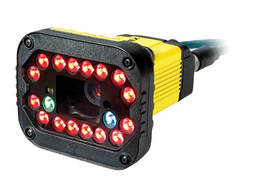 Cognex DataMan 370 von links mit Licht