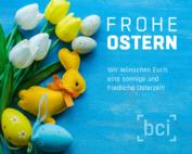 bci wünscht sonnige Osterfeiertage