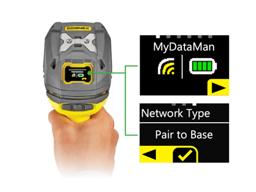 Cognex DataMan 8700 Produktbild Display