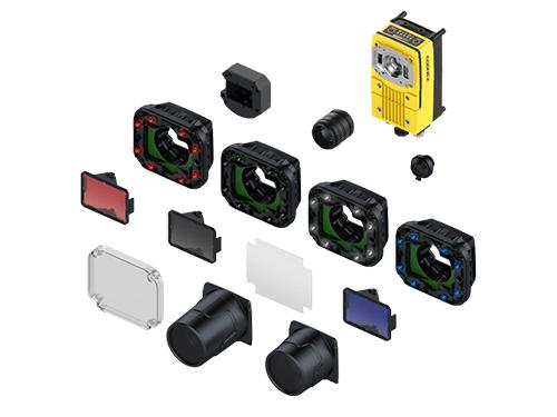 Cognex In-Sight D900 Handscanner Produktzusammensetzung