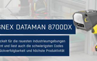 Newsmeldung Cognex DataMan 8700DX jetzt verfuegbar