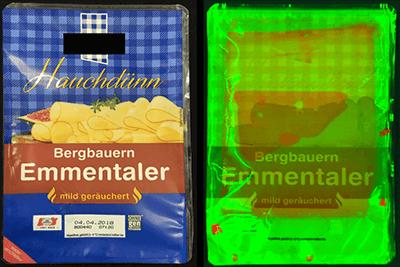 Perception Park Hyperspektrale Bildverarbeitung am Beispiel der Kaeseverpackung