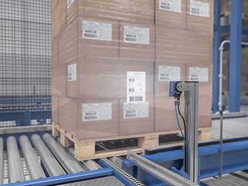 Datalogic Matrix 320 Einsatzgebiet Traceability Paletten-Scan