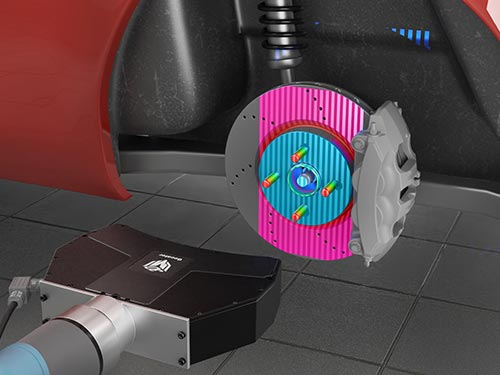 LMI Technologies Gocator 3520 Wheel Stud Location