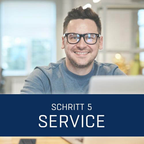 Projektablauf Service