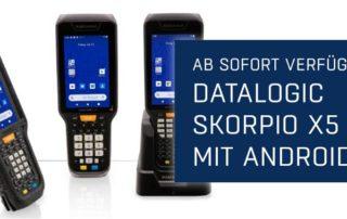 Newsmeldung Header - Datalogic Skorpio X5