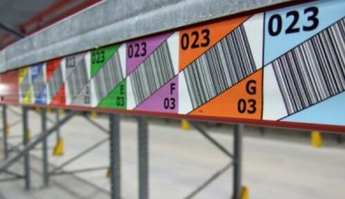 Produktkategorie ID Barcode-Etiketten Multilevel
