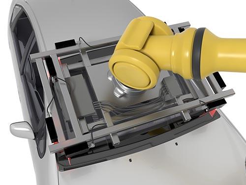 LMI Technologies Gocator Roboterfuehrung
