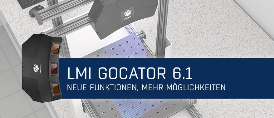 Newsmeldung Header - LMI Newsletter Gocator 6.1 - 220221