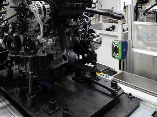 Datalogic P2x-Serie Einsatzbild Automotive