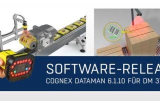 Newsmeldung Header - Cognex DataMan 6.1.10 - 210421