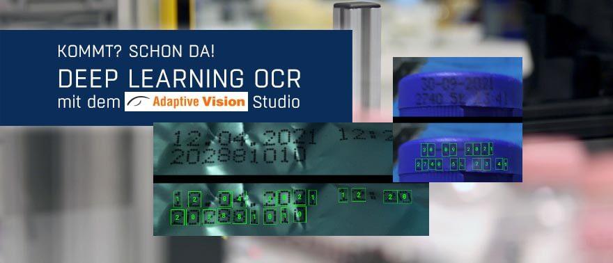 Deep Learning OCR mit dem Adaptive Vision Studio