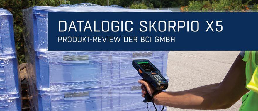 Newsmeldung Header - Review Datalogic Skorpio X5 - 170521