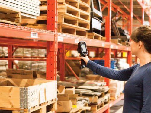 Zebra Technologies TC8300 Anwendung Logistik