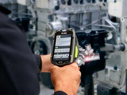 Zebra Technologies TC8300 Anwendung Produktion